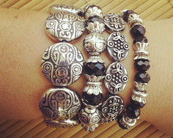 Mix Pulseira Black
