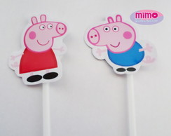 Topper Recorte Peppa Pig