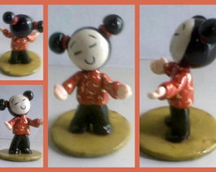 ENFEITE PUCCA EM BISCUIT 8 cm