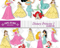 Clipart Princesas Disney