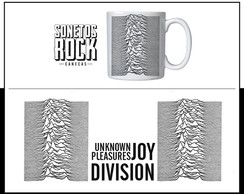 Caneca Sonetos Rock Joy Division