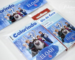 Kit Colorir mini revistinha - Frozen