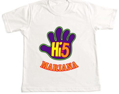 Camiseta infantil Hi five