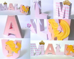 Letras 3D Barbie