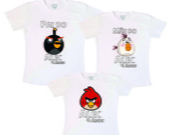 Kit Fam�lia Anivers�rio Angry Birds3