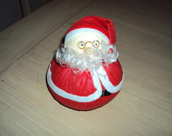 Papai Noel de tecido