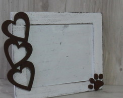 Porta Retrato Amor LOVE PET