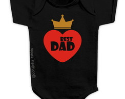 Body/Camisetinha Best Dad