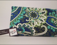 Carteira de m�o - Blue Green -