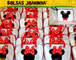 MINNIE ou MICKEY BOLSAS