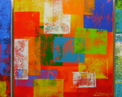 Pain�is 25x25 Cada Abstrato Cod 902