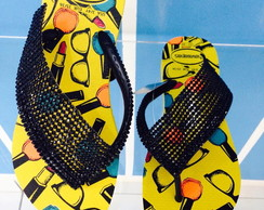HAVAIANAS CUSTOMIZADAS PRINCESA FASHION