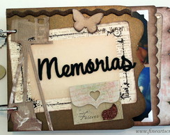 Mini �lbum de Fotos - Scrapbook