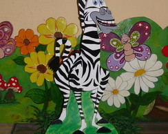 Pain�is madagascar com 50 cm em MDF