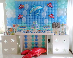 Decora��o Clean Fundo do Mar