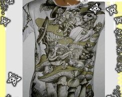 Camiseta Gnomo Alice in wonderland