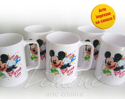 Caneca Pl�stica 300ml - mickey
