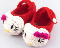 Sapato Croch� Hello Kitty