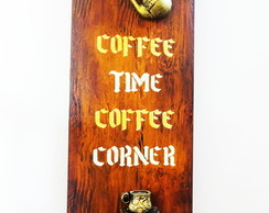 Placa Coffee Corner Coffee Time