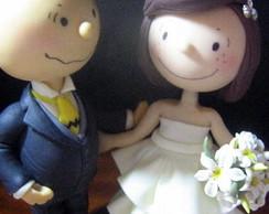 Noivinhos Peanuts - Charlie e Patty