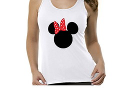 Camiseta regata Minnie