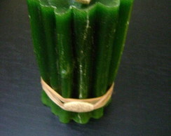 Vela em formato de bamb�