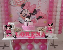 Decora��o da Minnie Rosa com Kit.