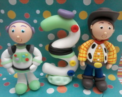 mini topo toy story + vela buzz