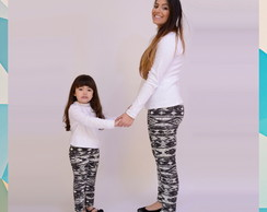 Kit Cal�as Tal M�e Tal Filha Pop Black