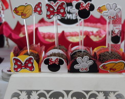 Topper p/ Cupcake/Doce - Minnie