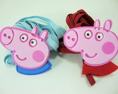 PULA EL�STICO PEPPA PIG & GEORGE 557610