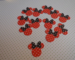 Minnie - Aplique para festa da Minnie