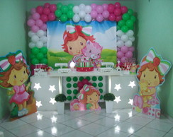 Decora��o Clean Moranguinho Baby