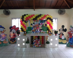 Decora��o Clean Turma do Mickey