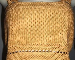 Blusa crochet Ver�o