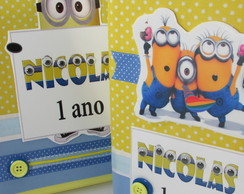 �lbum Fotos Decorado - Minions
