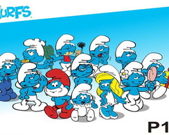Painel Os Smurfs
