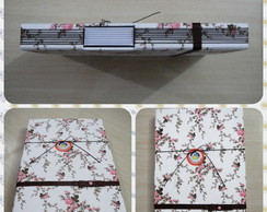 Caderno Floral Buttonhole