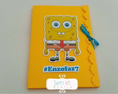 Kit de Colorir Bob Esponja