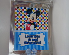 Saquinho Zip Mickey!