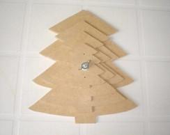Kit Molde �rvore Natal n� 4 - MDF