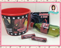 Kit Cinema Personalizado - Super Her�is