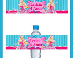 Rotulo para Agua Barbie Secreta