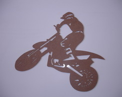 Moto Cross 2 MDF 6 mm 70 x 62cm