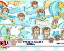 URSINHO AVIADOR - Scrap Digital