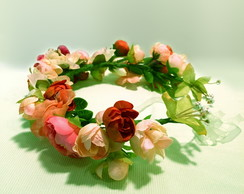 headbands de flores artificiais