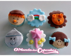 Mini Cupcake Magico de Oz