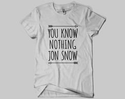 Camiseta Game of Thrones - Jon Snow 02