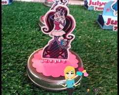 Latinha personalizada 3d monster high