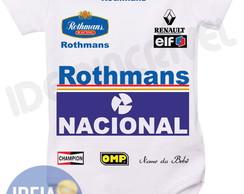Body Infantil - Corrida F1 Ayrton Senna comprar usado  Brasil